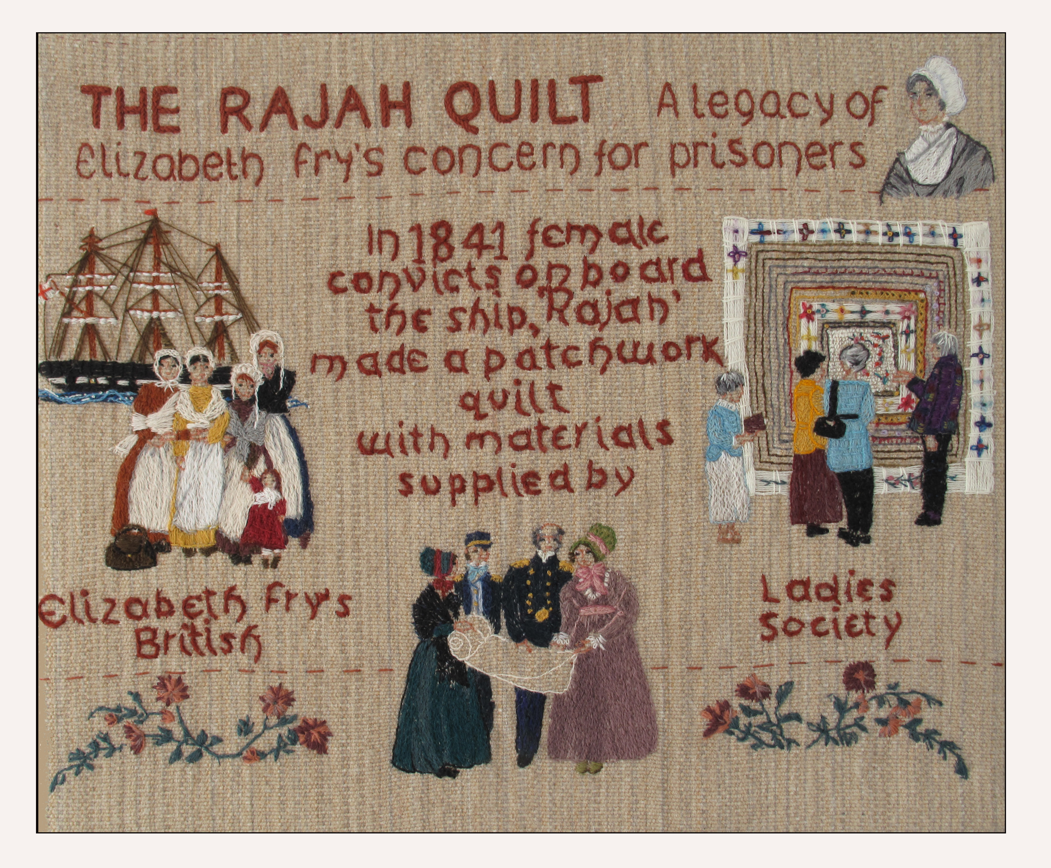 The Rajah Quilt | Australia Yearly Meeting