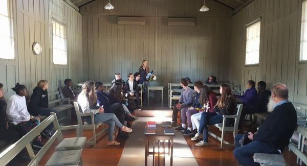 JYF's gathering at the Adelaide meeting house