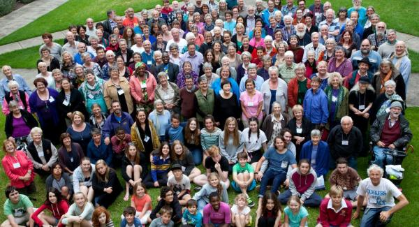 Friends at Yearly Meeting 2015