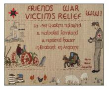 friends War Victims Relief, in France, WW1.