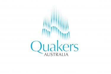 Quakers Australia logo, the Aurora Australis